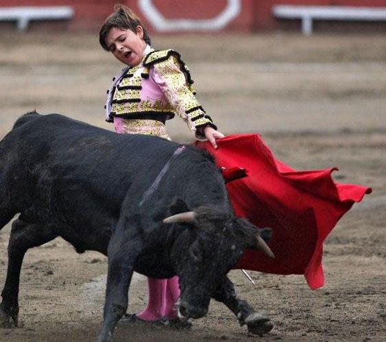 enfant-torero