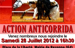 Action anticorrida Bayonne