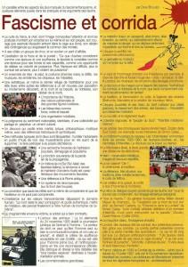 Fascime et corrida, un article de Denis Boulbès