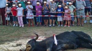 Le scandale des enfants confrontés aux corridas