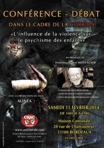 Conférence à Bordeaux : L'influence de la violence sur le psychisme des enfants