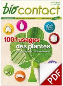Biocontact n°248, juillet 2014