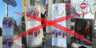 Fin de l'affichage illégal pour les corridas à Arles, une action No Corrida / FLAC