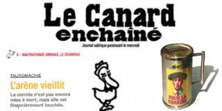Chronique d'une mort annoncée de la corrida dans Le Canard!