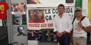 La cause anticorrida présente au cœur des Journées d'été de EELV à Toulouse!